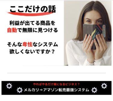広田光輝のメルカリ→アマゾン転売最強システム  システム物販は限界!?